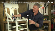 Video: How to turn old furniture into treasures
