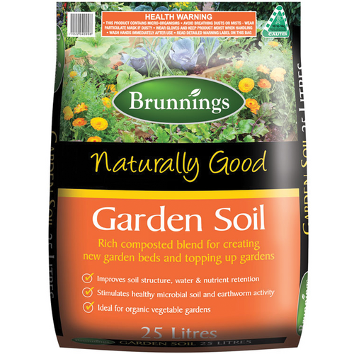 Naturally good soil garden 25lt brunnings