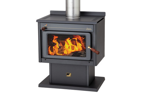 Kent Somerset Free Standing Wood Heater with Fan