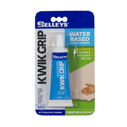 Kwik grip solvent 50ml selleys