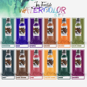 Jays Freestyle Water Colour Set 1 oz