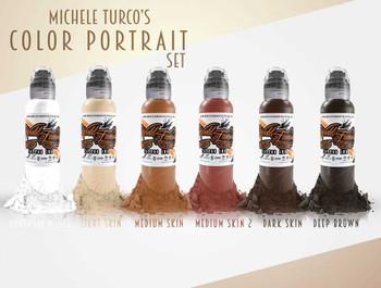 Michele Turcos colour Portrait Set of 6