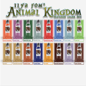 ILYA FOM'S ANIMAL KINGDOM - Set of 16