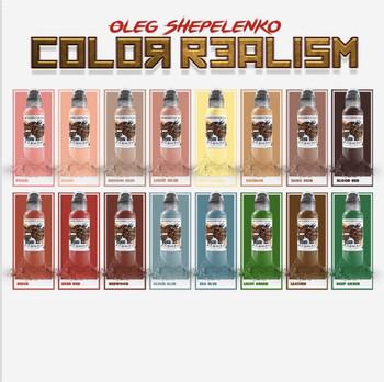 OLEG Shepelenko Realism Colours (2oz)