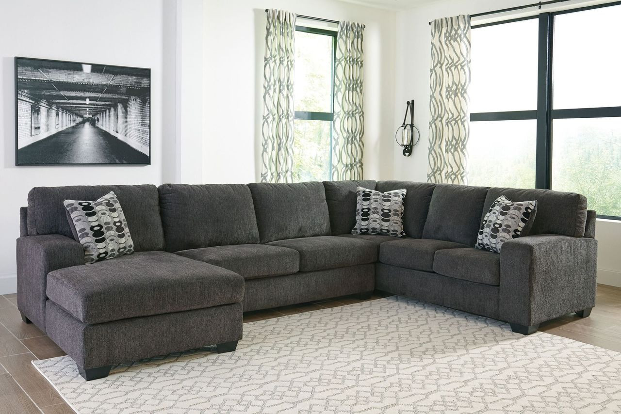Tremendous Ballinasloe Smoke Laf Corner Chaise Armless Loveseat Raf Sofa Sectional Onthecornerstone Fun Painted Chair Ideas Images Onthecornerstoneorg