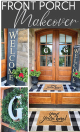 GET CRAFTY WITH OUR FRONT PORCH MAKEOVER