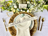 YOUR GUIDE TO THE PERFECT EASTER TABLESCAPE