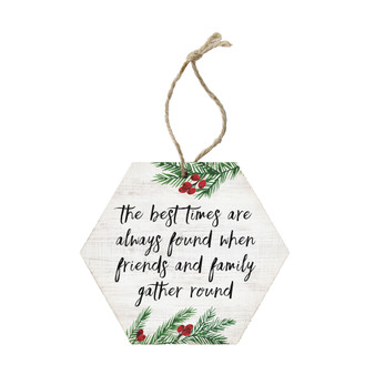 Best Times Found - Ornament