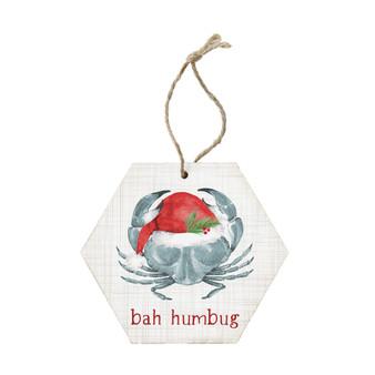 Bah Humbug Crab - Ornament