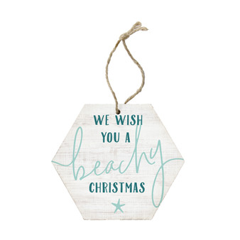 Beachy Christmas - Ornament