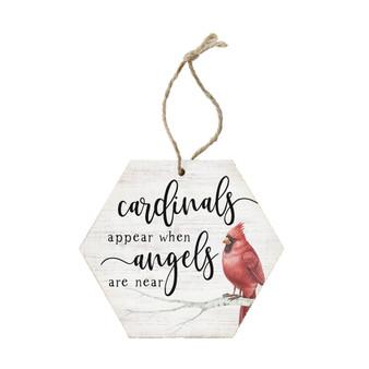 Cardinals Appear - Ornament