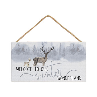Winter Wonderland Deer - Petite Hanging Accents