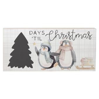 Days Til' Christmas - Chalk Talk