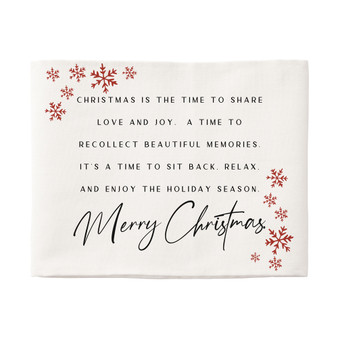 Christmas Is The Time - Pillow Hugs