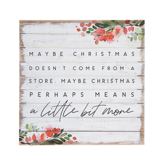 Maybe Christmas - Perfect Pallet