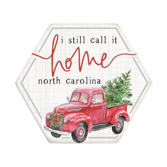 Call It Home Truck PER - Honeycomb Coasters