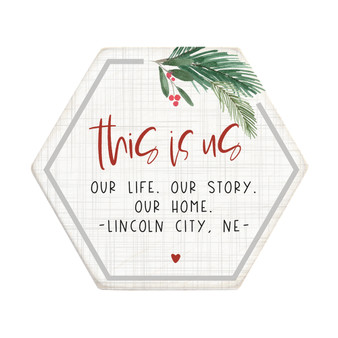 This Is Us Christmas PER - Honeycomb Coasters