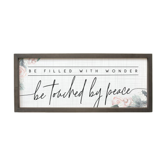 Touched By Peace - Farmhouse Frame