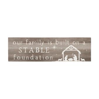 Stable Foundation - Vintage Pallet Boards