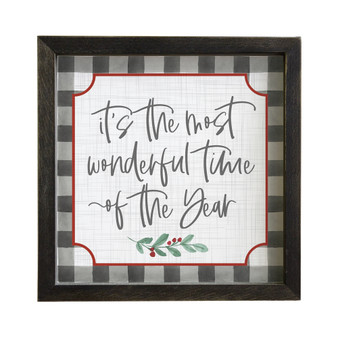 Most Wonderful Time - Rustic Frame
