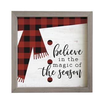 Believe In The Magic - Rustic Frame
