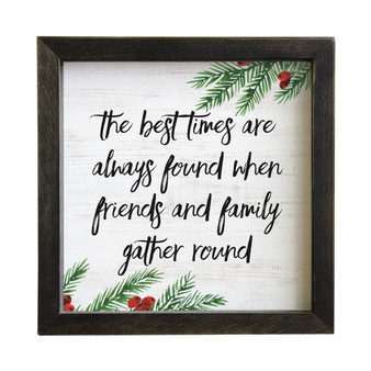 Best Times Found - Rustic Frame