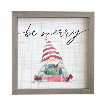 Be Merry - Rustic Frame