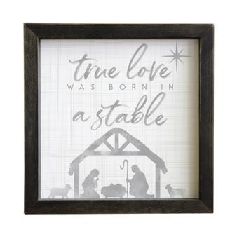 True Love - Rustic Frame