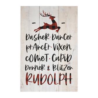 Reindeer - Rustic Pallet