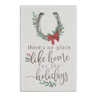 Home Holidays Horseshoe - Small Talk Rectangle