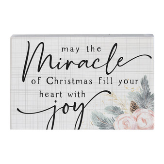 Miracle Of Christmas - Small Talk Rectangle