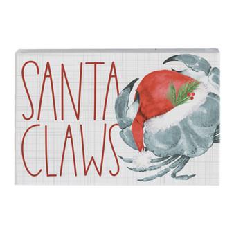 Santa Claws Crab - Small Talk Rectangle