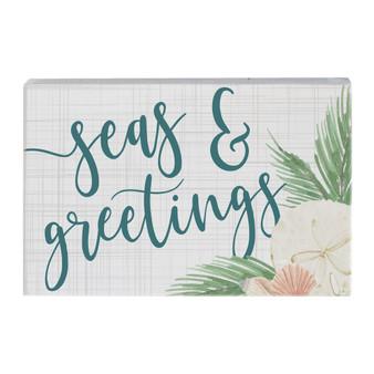 Seas & Greetings - Small Talk Rectangle