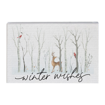 Winter Wishes - Small Talk Rectangle