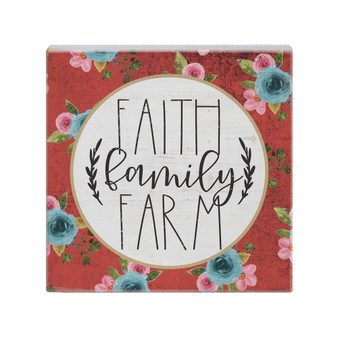Faith Family - Small Talk Square