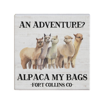Alpaca Bags PER - Small Talk Square