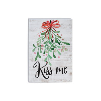 Kiss Me - Small Talk Rectangle