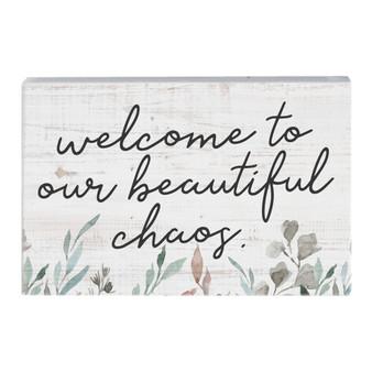 Beautiful Chaos - Small Talk Rectangle