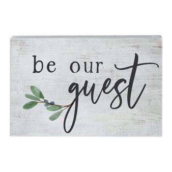 Be Our Guest - Small Talk Rectangle