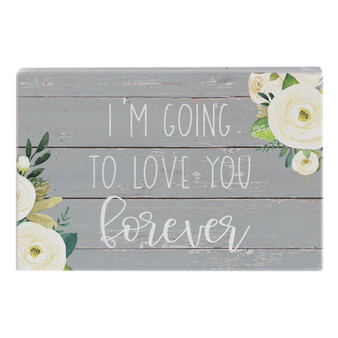 Love You Forever - Small Talk Rectangle