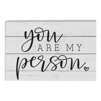 My Person - Small Talk Rectangle