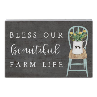 Beautiful Farm Life - Small Talk Rectangle