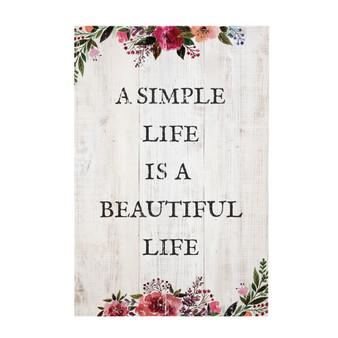 Simple Life - Rustic Pallet