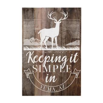 Deer PER - Rustic Pallet