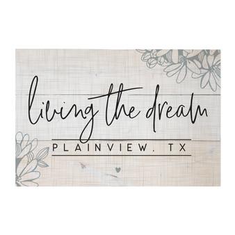 Living The Dream PER - Rustic Pallet