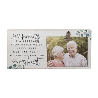 Memory A Keepsake - Picture Clip