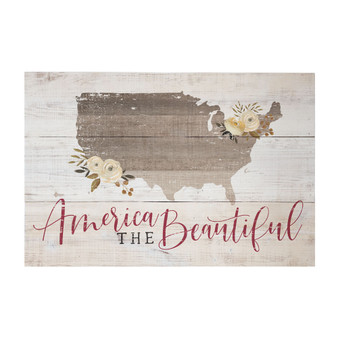America Beautiful - Rustic Pallet