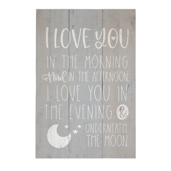 I Love You - Rustic Pallet