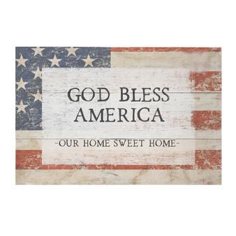 God Bless America - Rustic Pallet