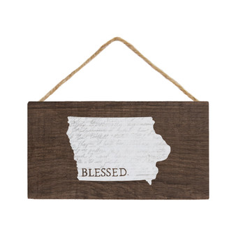 Blessed State STATE - Petite Hanging Accent